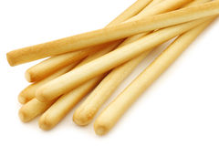 Bunch of bread sticks Stock Image