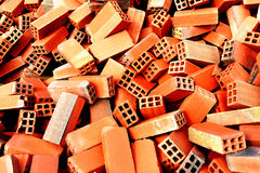Bunch of bricks Royalty Free Stock Photo