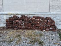A bunch of bricks Stock Photography