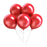 Bunch of bright colorful shiny ballon Royalty Free Stock Photos