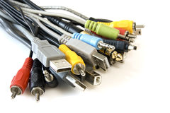 Bunch of  cables Royalty Free Stock Photography