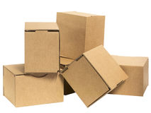 Bunch of cardboard Stock Images
