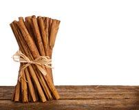 Bunch of Ceylon cinnamon Royalty Free Stock Photos