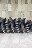Bunch chairs Royalty Free Stock Images