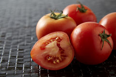 Bunch of cherry tomatoes Royalty Free Stock Photography