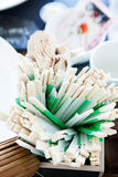 Bunch of chopsticks Stock Photography