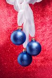 Bunch of Christmas balls Royalty Free Stock Photo