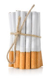 Bunch of cigarettes Royalty Free Stock Images