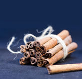 Bunch of cinnamon stick Stock Photos