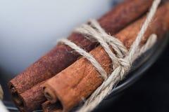 Bunch of cinnamon stick Stock Photos