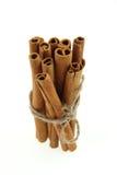 Bunch of cinnamon sticks Stock Photo