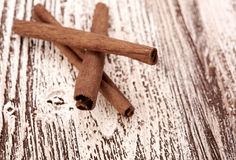 Bunch of cinnamon sticks Royalty Free Stock Images