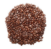 Bunch of coffee beans Stock Photos