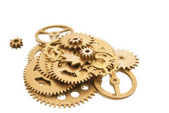 Bunch of cogs Stock Photo