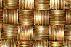 Bunch of coins Royalty Free Stock Photography