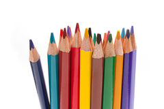 Bunch of color pencils Royalty Free Stock Photo