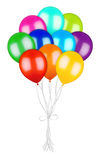 Bunch of colorful balloons Royalty Free Stock Photos