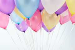 Bunch Of Colorful Balloons Shot In Studio Royalty Free Stock Photo