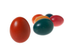 A Bunch of Colorful Easter Eggs Royalty Free Stock Image