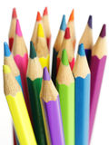 Bunch of colorful pencils Royalty Free Stock Image