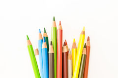 Bunch of colorful pencils Stock Photography