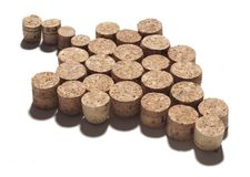 Bunch of corks Stock Image