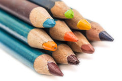 Bunch Of Crayons Royalty Free Stock Photography