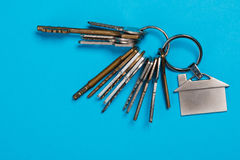 Bunch of different keys Royalty Free Stock Images
