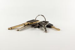 Bunch of different keys Royalty Free Stock Photo