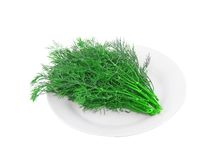 Bunch of dill Stock Photos