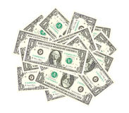 Bunch of dollars Royalty Free Stock Images