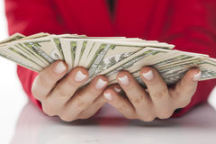 Bunch of dollars Royalty Free Stock Photo