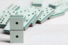 Bunch of dominoes Royalty Free Stock Image
