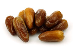 Bunch of dried dates Royalty Free Stock Images