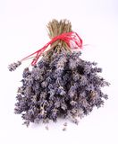 Bunch of dried lavender Stock Photos