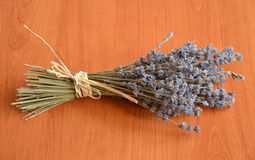 A bunch of dried lavender flowers Royalty Free Stock Photography