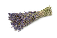 Bunch of dried lavender Stock Photography