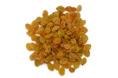 Bunch of dried light raisins Royalty Free Stock Photography