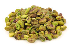Bunch of dried pistachio nuts Royalty Free Stock Image