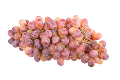 Bunch of dries grapes isolated on white background Stock Photography