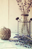 Bunch of dry lavender Royalty Free Stock Images