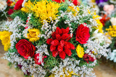 Bunch of dryed flowers Royalty Free Stock Images