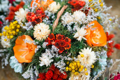 Bunch of dryed flowers Royalty Free Stock Photos