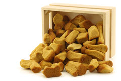 Bunch of Dutch traditionally baked pepernoten Royalty Free Stock Photo