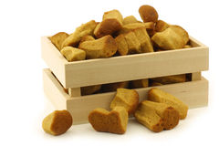 Bunch of Dutch traditionally baked pepernoten Royalty Free Stock Image