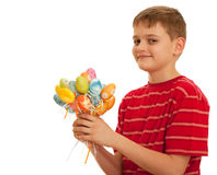 Bunch of easter eggs Royalty Free Stock Photos