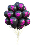 Bunch of emo balloons Stock Photography