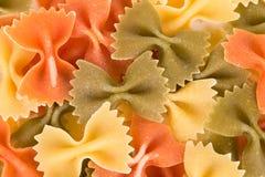 Bunch of the farfalle pasta Stock Photo