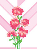 Bunch Flower Gift Card Stock Image