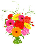 Bunch of flowers Royalty Free Stock Photography